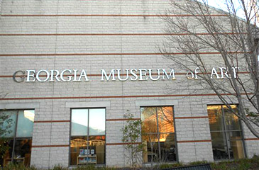 Athens Georgia USA - Georgia Museum of Art - Museum